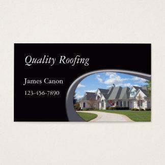 屋根を付けること 名刺
