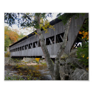 屋根付橋7692 ポスター