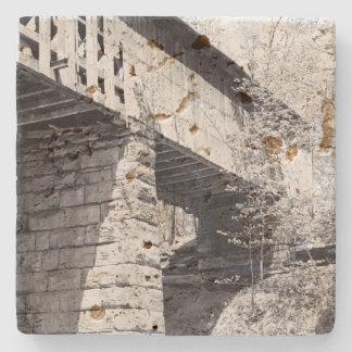 屋根付橋 ストーンコースター