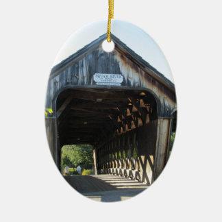 屋根付橋 セラミックオーナメント