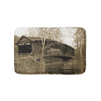 屋根付橋 バスマット