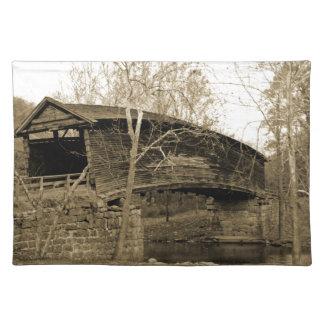 屋根付橋 ランチョンマット
