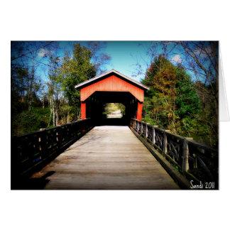 屋根付橋Belmont郡、オハイオ州 カード