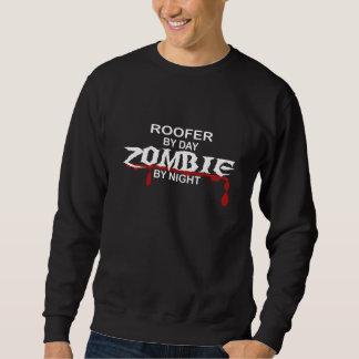 屋根葺き職人のゾンビ スウェットシャツ