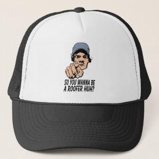 屋根葺き職人の帽子 キャップ