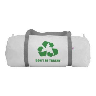 屑のリサイクルがあないで下さい ジムバッグ
