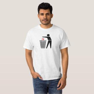屑の共産主義のTシャツ Tシャツ