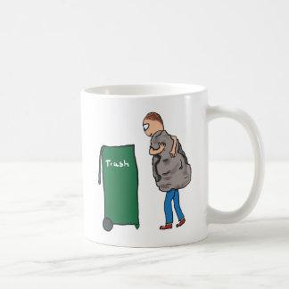 屑を取って下さい コーヒーマグカップ