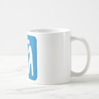 屑/廃物/屑のハイウェーの印 コーヒーマグカップ