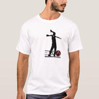 展覧会のドリルの競争連合T Tシャツ