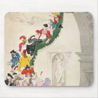 展覧会の凝視の例、c.1800 マウスパッド