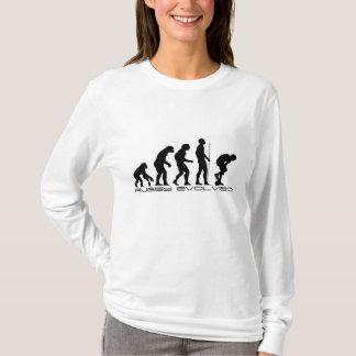 展開するラグビーリーグ- Tシャツ
