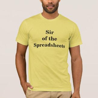 展開表の-会計士のニックネームT Tシャツ