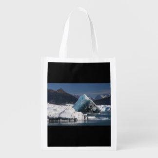 山および氷 エコバッグ