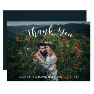 山から結婚する|は平らなカード感謝していしています カード