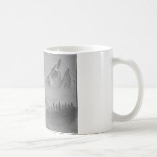 山が付いているマグ コーヒーマグカップ