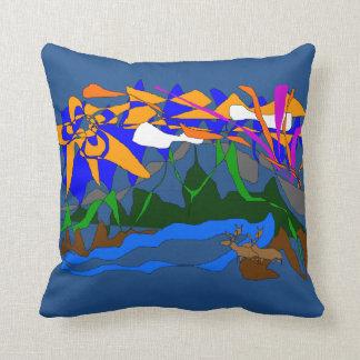 山によっては装飾用クッションの夏場面が夢を見ます クッション