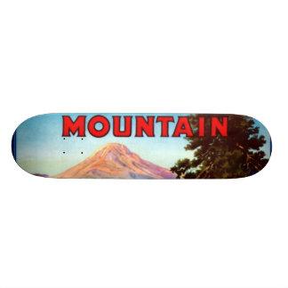 山のりんごポートランドオレゴン スケートボードデッキ