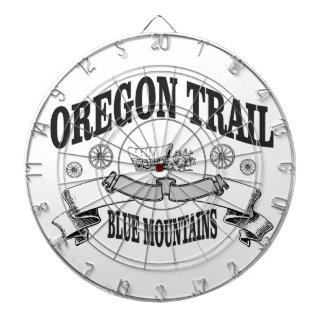 山のオレゴンの青い道 ダーツボード