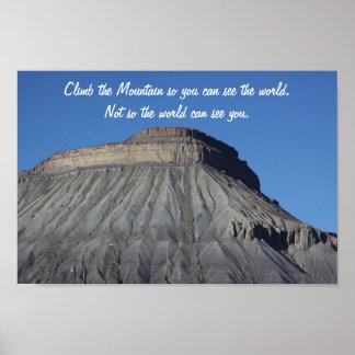 山のガーフィールドポスター ポスター
