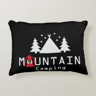 山のキャンプ アクセントクッション