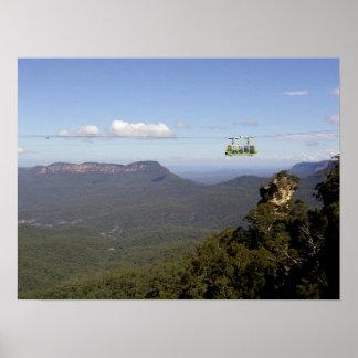 山のケーブル・カー ポスター