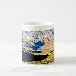 山のコーヒーカップまたはマグのコロラド川 コーヒーマグカップ