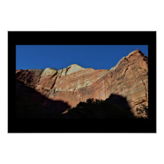 山のザイオン国立公園 ポスター