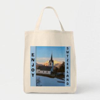 山のスイス教会 トートバッグ