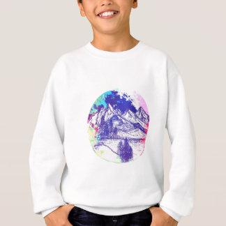 山のスケッチ スウェットシャツ