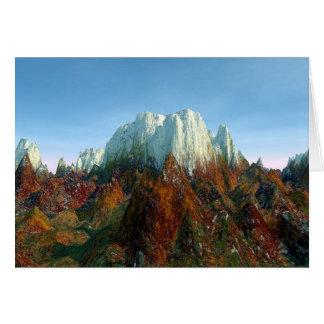 山のドラゴンの隠れ家 カード