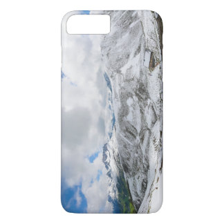 山のパノラマHochalppass Hochkrumbachオーストリア iPhone 8 Plus/7 Plusケース