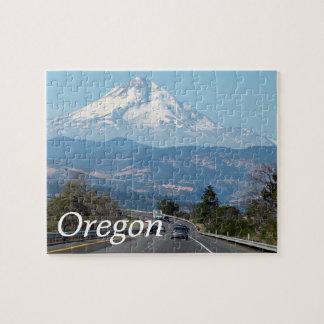 山のフード、オレゴンのパズル ジグソーパズル