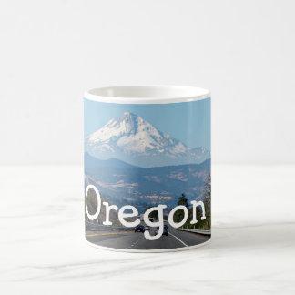 山のフード、オレゴンのマグ コーヒーマグカップ