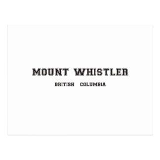 山のホイスラーブリティッシュ・コロンビア ポストカード