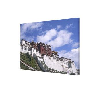山のポタラ宮Dalaiの家 キャンバスプリント