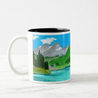 山のマグ ツートーンマグカップ
