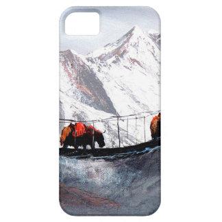 山のヤクヒマラヤ山脈の群れ iPhone SE/5/5s ケース