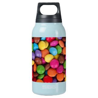 山の上塗を施してあるチョコレート・キャンディ 断熱ウォーターボトル