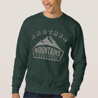 山の冒険の登山のクライマーのハイカー スウェットシャツ