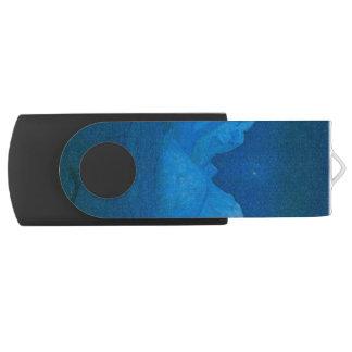 山の冬夜 USBフラッシュドライブ