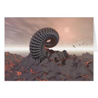 山の創造物 カード