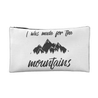山の化粧品のバッグB/Wのために作られる コスメティックバッグ