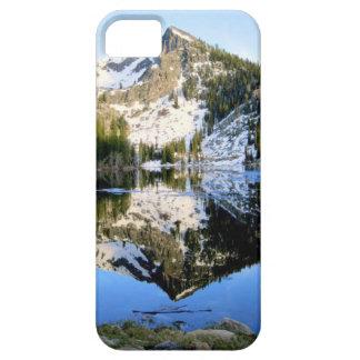 山の反射のiphoneの場合 iPhone SE/5/5s ケース