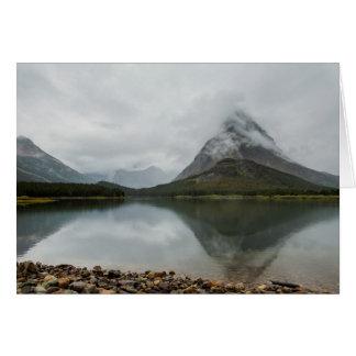 山の反射-氷河NP カード
