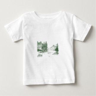 山の声 ベビーTシャツ