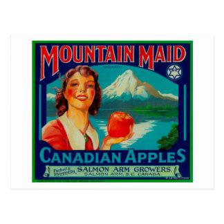 山の女中Apple LabelCanada ポストカード
