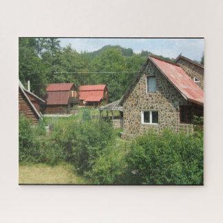 山の小屋 ジグソーパズル