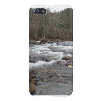 山の川のiphoneの場合 iPhone 5 ケース
