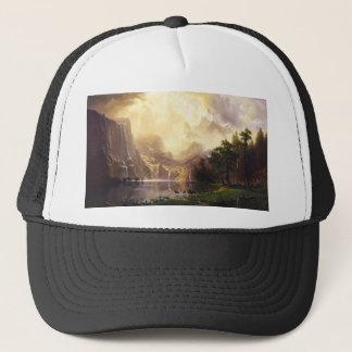 山の帽子のアルバートBierstadt キャップ